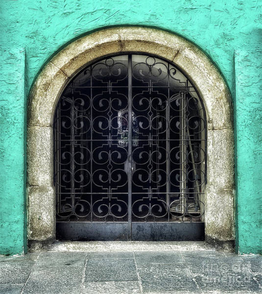 Wall Art - Photograph - The Metal Door by Flo Photography