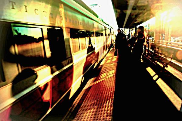 Wall Art - Photograph - The Metro by Diana Angstadt