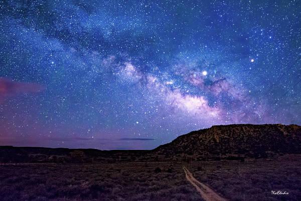 Photograph - The Milky Way At El Dorado by Tim Kathka