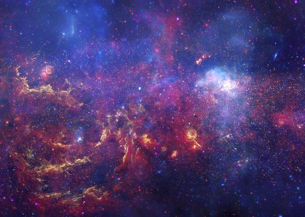 Wall Art - Digital Art - The Milky Way by Filip Hellman