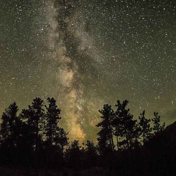 Photograph - The Milky Way by Jennifer Grossnickle