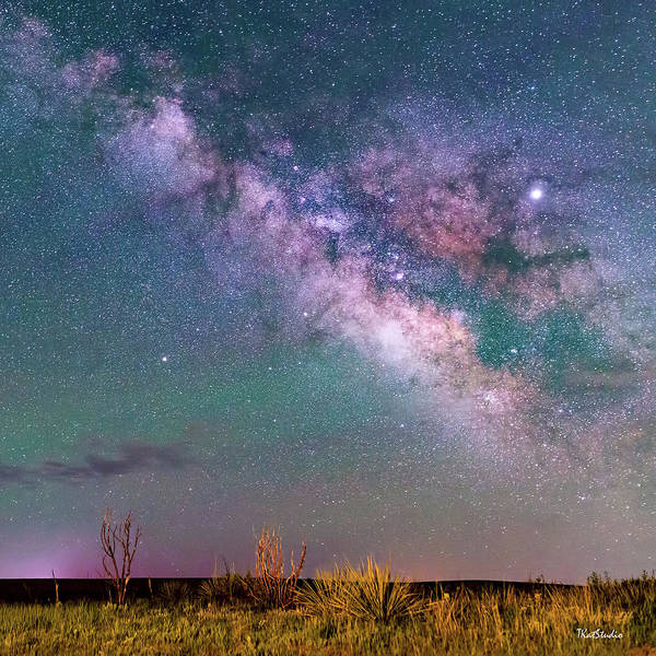 Photograph - The Milky Way Over The Colorado Plains by Tim Kathka