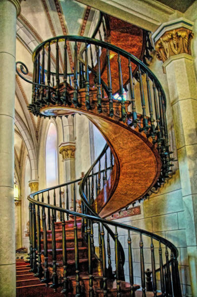 Loretto Chapel Photograph - The Miraculous Stair by Paul Coco