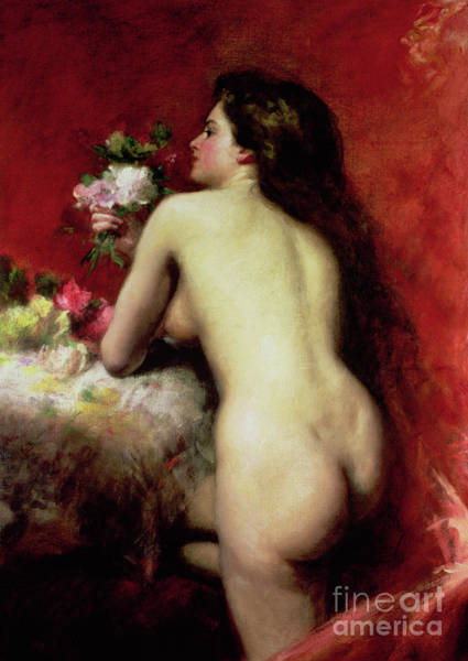 Wall Art - Painting - The Model, 1905 by Charles Emile Auguste Carolus-Duran