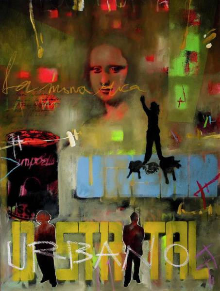 Painting - The Mona Rica, 2006 Mixed Media On by Jerome Valbuena