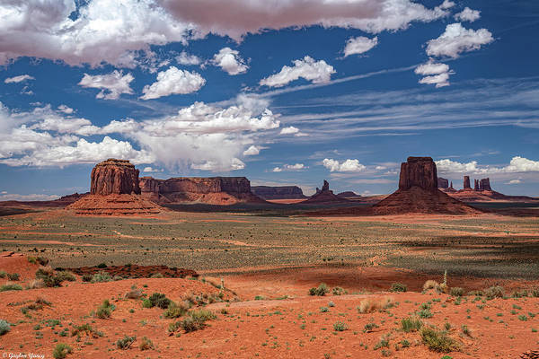 Photograph - The Monument Valley by Gaylon Yancy