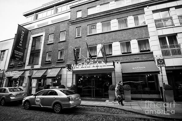 Wall Art - Photograph - The Morgan Hotel Temple Bar Dublin Republic Of Ireland Europe by Joe Fox