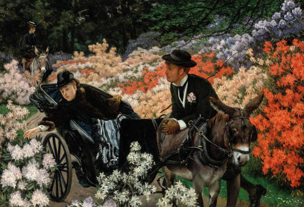 Wall Art - Painting - The Morning Ride by James Tissot
