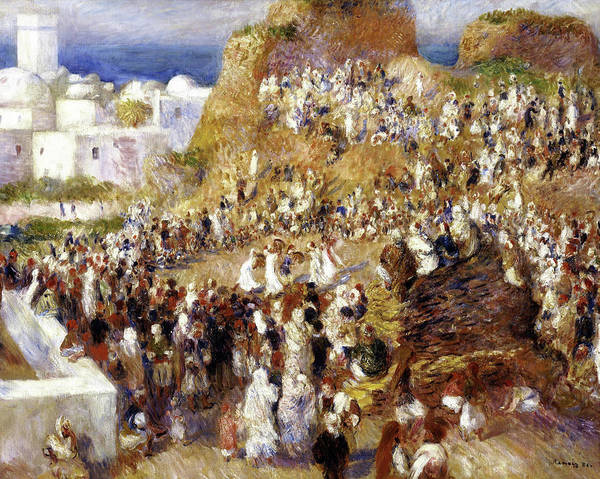 Wall Art - Painting - The Mosque - Digital Remastered Edition by Pierre-Auguste Renoir