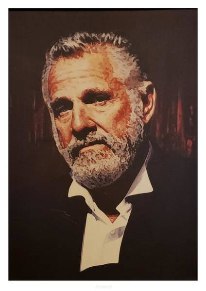 Photograph - The Most Interesting Man In The World by Rob Hans