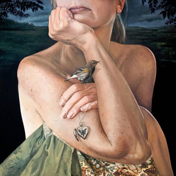 Clovis Painting - The Moth Eater by Clovis Rusk