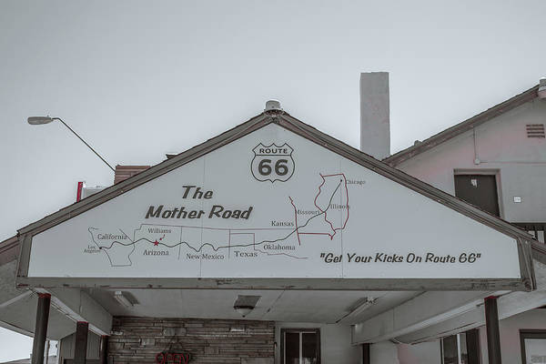 Wall Art - Photograph - The Mother Road by Darrell Foster