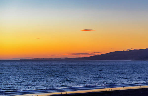 Photograph - The Mother Ship Hovering Over Malibu by Gene Parks
