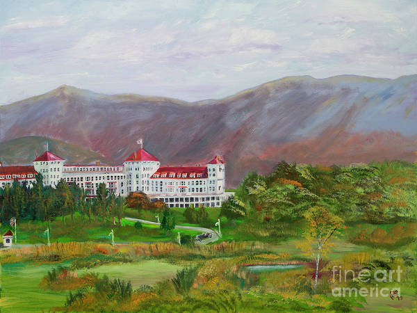 Painting - The Mount Washington Hotel by Francois Lamothe