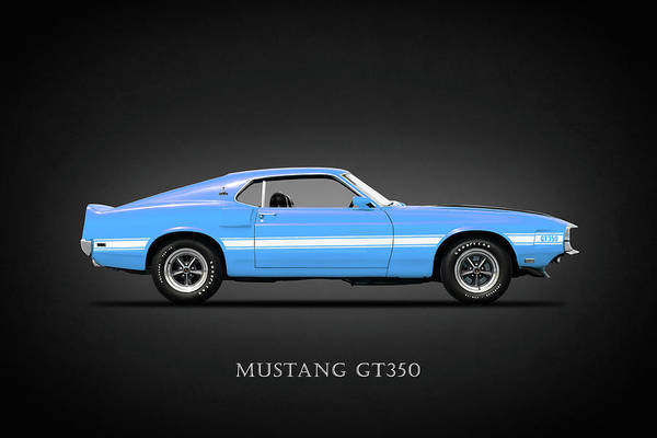 Wall Art - Photograph - The Mustang Gt350 by Mark Rogan