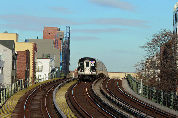 Photograph - The N Train Cometh by Cate Franklyn