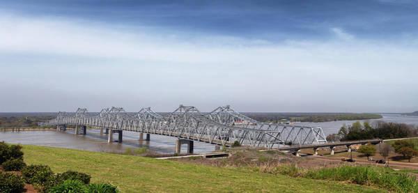 Photograph - The Natchez Vidalia Bridge by Susan Rissi Tregoning