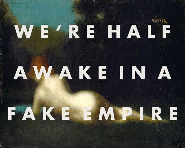 Digital Art - The National Fake Empire Print by Georgia Fowler