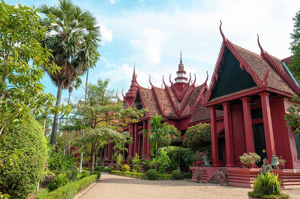 Phnom Penh Photograph - The National Museum In Phnom Penh by Tbradford