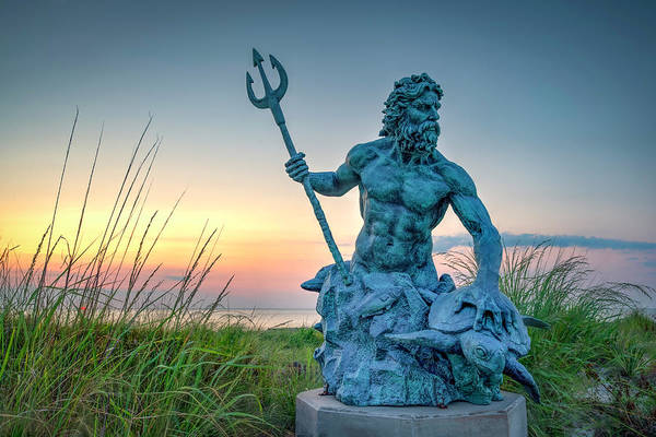 Photograph - The Neptune Maquette by Pete Federico
