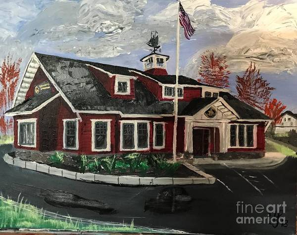 Painting - The New Dover, Nh Branch by Francois Lamothe