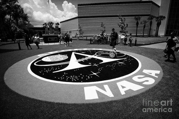 Wall Art - Photograph - The New Moon Tree Garden In The Apollo/saturn 5 Center Kennedy Space Center Florida Usa On The Week  by Joe Fox