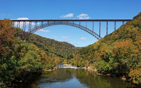 Photograph - The New River Gorge Bridge by Jim Vallee