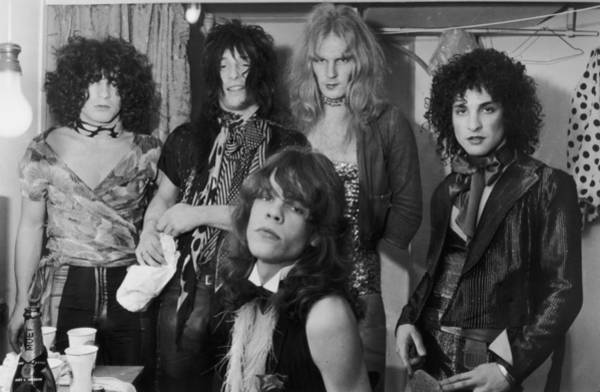 Clothing Photograph - The New York Dolls by P. Felix