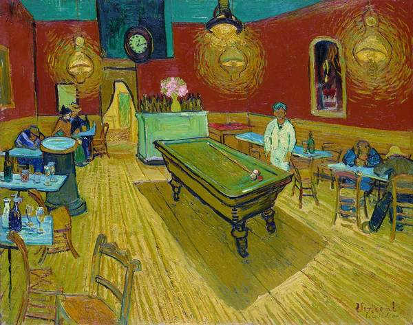 Wall Art - Painting - The Night Cafe - Digital Remastered Edition by Vincent van Gogh