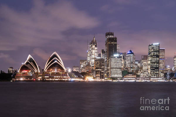 Photograph - the night of Sydney by Didier Marti