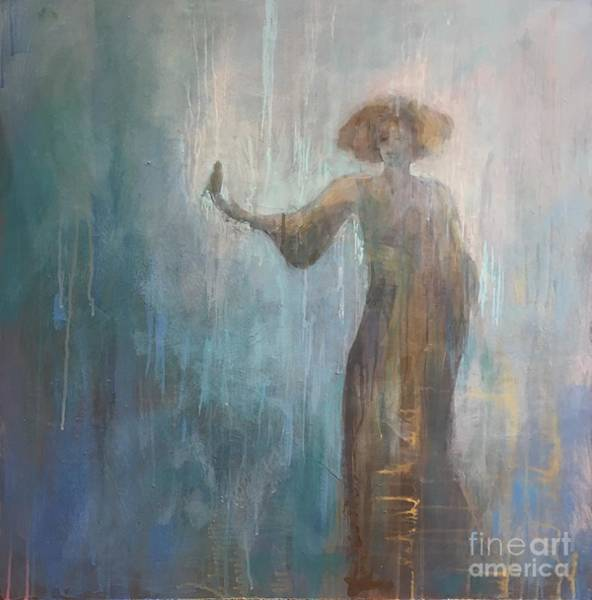 Siren Painting - The Nightingale by Kimberly Santini