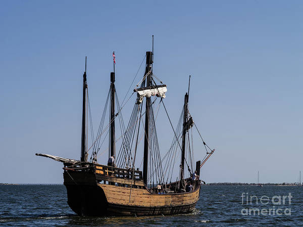Floating Museum Photograph - The Nina Replica 6 by Tracy Knauer
