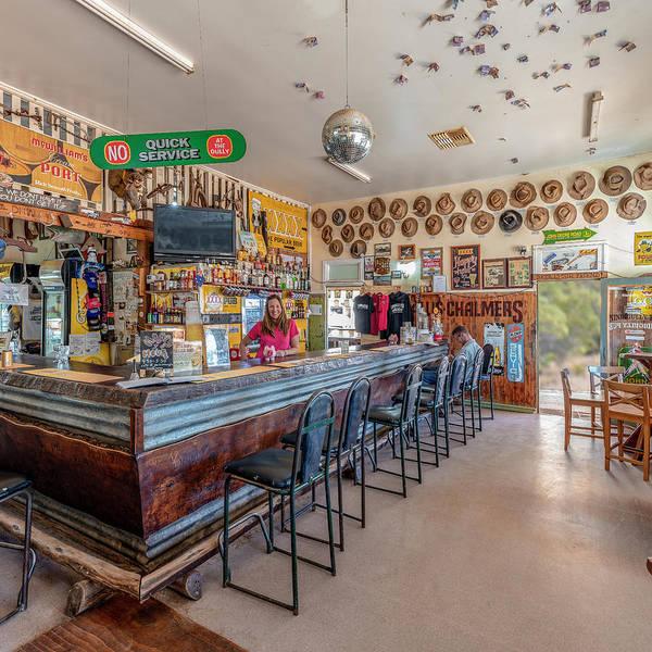 Bar Tender Photograph - The Nindigully Pub by Jaime Dormer