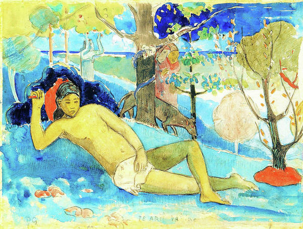 Wall Art - Painting - The Noble Queen - Digital Remastered Edition by Paul Gauguin