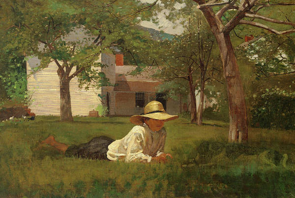 Wall Art - Painting - The Nooning, 1872 by Winslow Homer