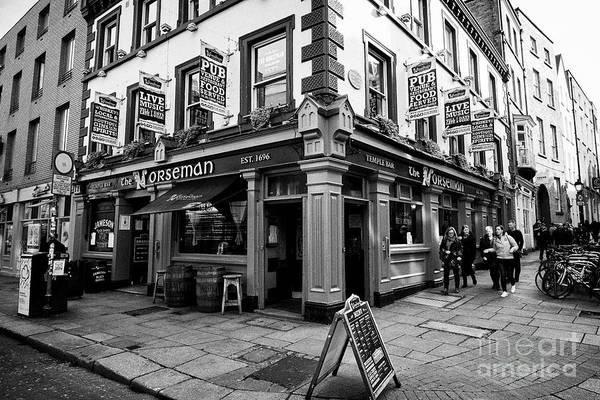 Wall Art - Photograph - The Norseman Pub Temple Bar Dublin Republic Of Ireland Europe by Joe Fox