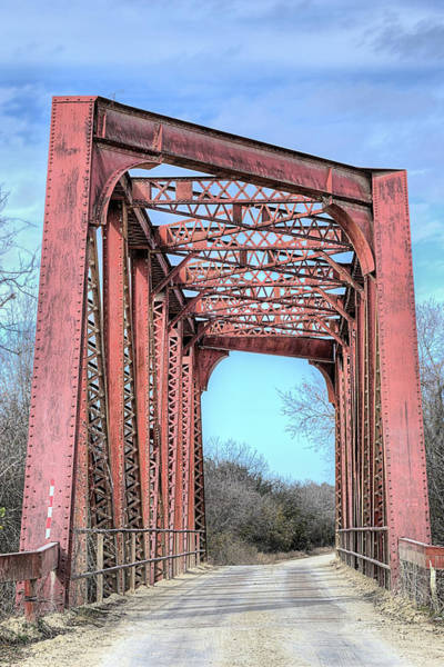 Wall Art - Photograph - The North Bosque River Bridge Hico Texas by JC Findley