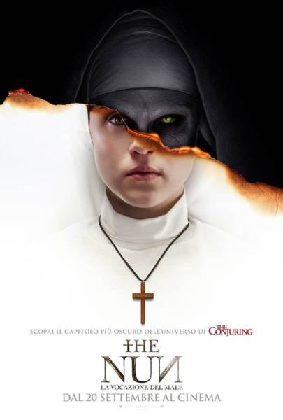 Wall Art - Digital Art - The Nun 2018 by Geek N Rock