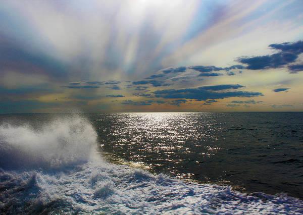 Wall Art - Photograph - The Ocean Stirs The Heart by Linda Sannuti