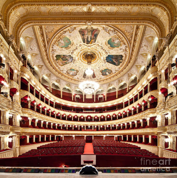 Wall Art - Photograph - The Odessa National Academic Theater Of by Alexander Levitsky