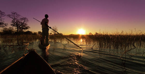 Oar Photograph - The Okavango Delta by Mb Photography