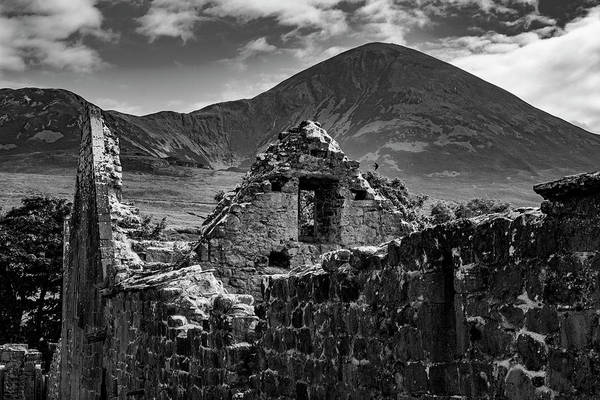 Photograph - Murrisk Abbey At The Bottom Of Croagh Patrick by Alan Campbell
