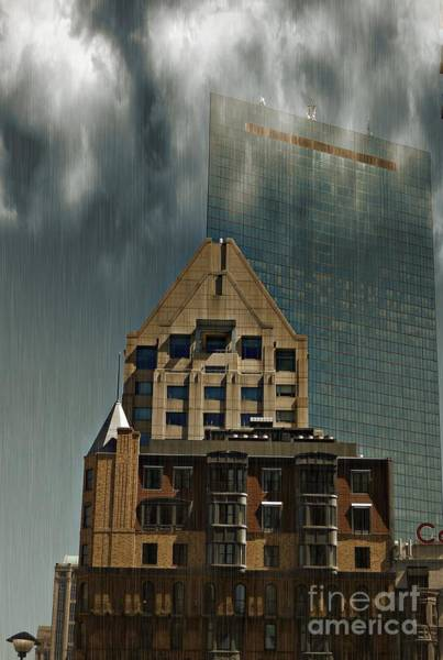 Photograph - The Old And New Architecture In Boston by Marcia Lee Jones