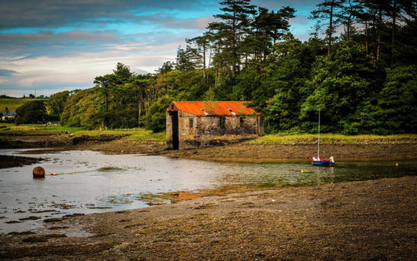 The Old Boat House Art Print