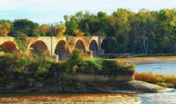 Wall Art - Photograph - The Old Bridge  by Richard Kopchock