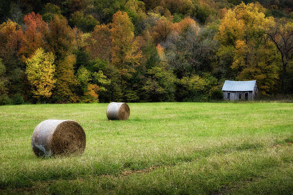 Lost River State Park Wall Art - Photograph - The Old Clark Cabin by James Barber