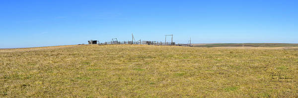 Photograph - The Old Corral On The Hillock    by Jim Thompson