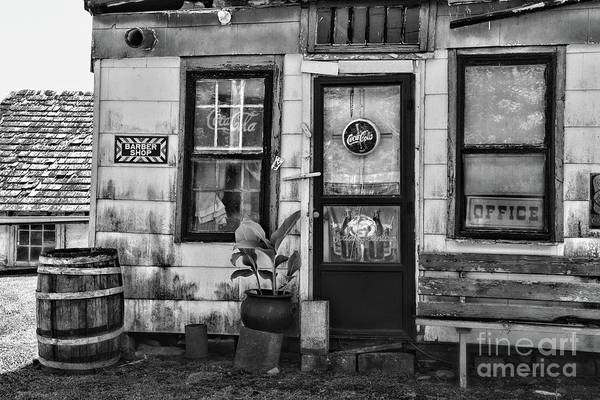 Wall Art - Photograph - The Old Country Store Black And White by Paul Ward