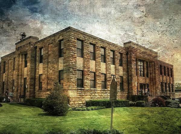 The Old County Courthouse Art Print