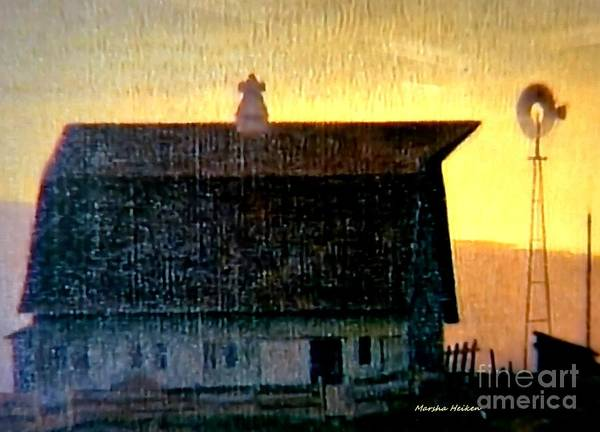Wall Art - Photograph - The Old Days In Iowa by Marsha Heiken